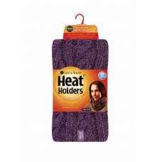Heat Holders Ladies Purple Neck Warmer Winter Clothing