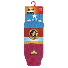 Heat Holders Ladies Wonder Woman Socks  Winter Clothing
