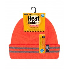 Heat Holders Mens Neon Thermal Hat Winter Clothing