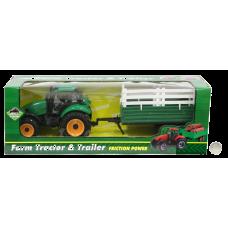 Farm Tractor & Trailer Set Christmas & Games