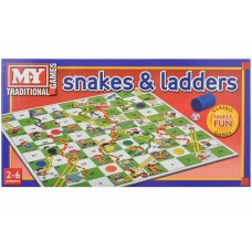 Snakes & Ladders Game Christmas & Games
