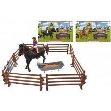 Horse & Rider Play Set Christmas & Games