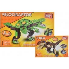 3 in 1 Dinosaur Brick Sets Christmas & Games
