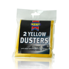 Kent Yellow Duster Twin Pack Car Care