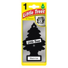 Little Trees Black Ice Air Freshener Little Trees
