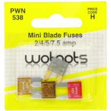 Wotnot Mini Blade Fuses Car Care