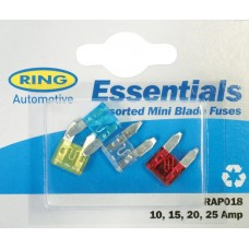 Ring Assorted Household Fuses Car Care