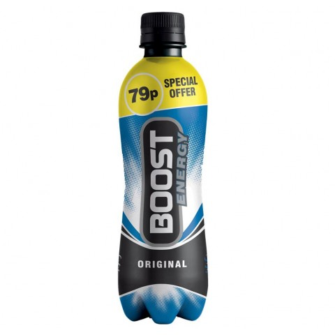 Boost Energy Original 79p PM bottle 500ml Drinks