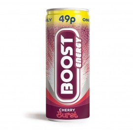 Boost Energy Original 49p PM Can 250ml Drinks
