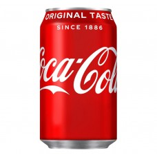 Coca Cola Original Can 330ml Drinks