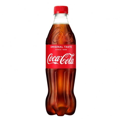 Coca Cola Original Bottle 500ml Drinks