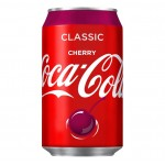 Coca Cola Cherry Can 330ml Drinks