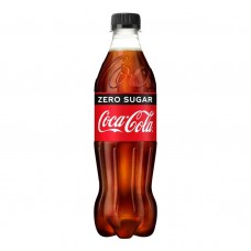 Coca Cola Zero Sugar Bottle 500ml Drinks