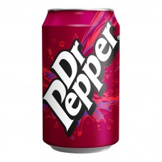 Dr Pepper Can 330ml Drinks