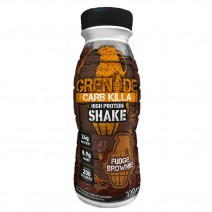 Grenade Fudge Brownie Carb Killa Protein Shakes 330ml