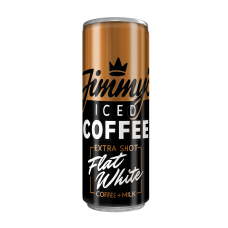 Jimmy's Flat White Extra Shot Can 250ml Drinks