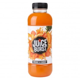 Juice Burst Orange and Carrot Bottle 500ml Drinks