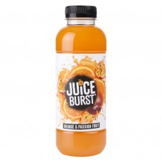 Juice Burst Orange and Passion fruit Bottle 500ml Drinks