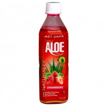 Just Drink Aloe Strawberry Bottle 500ml