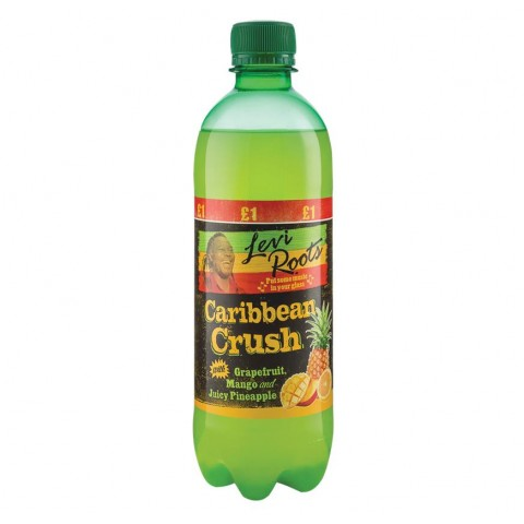 Levi Roots Caribean Crush £1 PM Bottle 500ml Drinks