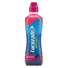 Lucozade Raspberry Sports Cap Bottle 500ml Drinks