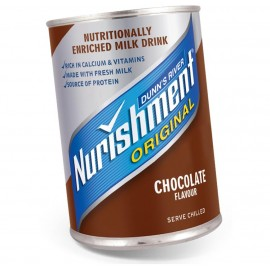 Nurishment Chocolate Tin 370ml Drinks