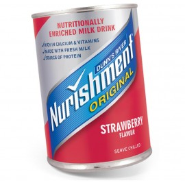 Nurishment Strawberry Tin 370ml Drinks