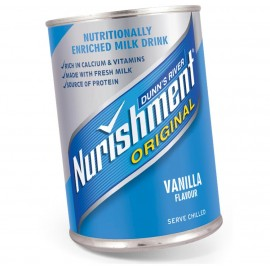 Nurishment Vanilla Tin 370ml Drinks