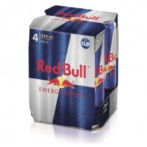 Red Bull 250ml 4 pack £4.89 PM