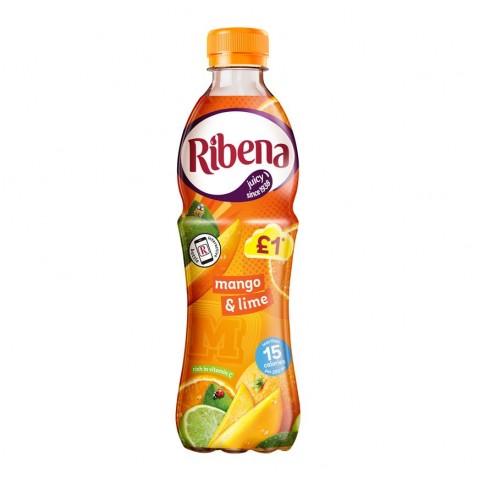 Ribena Mango & Lime £1 PM Bottle 500ml Drinks