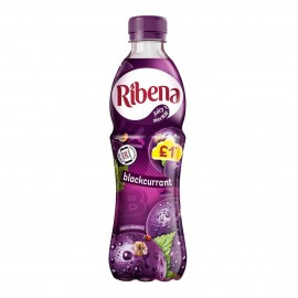 Ribena Blackcurrant £1 PM Bottle 500ml Drinks