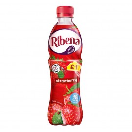 Ribena Strawberry £1 PM Bottle 500ml Drinks