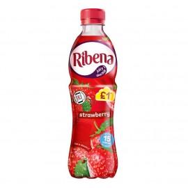 Ribena Strawberry £1.09 PM Bottle 500ml Drinks
