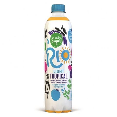 Rio Tropical Light Bottle 500ml Drinks