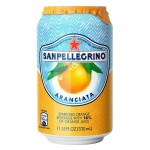 San Pellegrino Aranciata Can 330ml Drinks