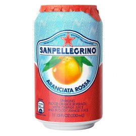 San Pellegrino Aranciate Rossa Can 330ml Drinks