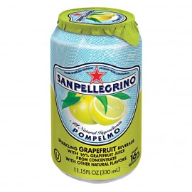 San Pellegrino Pompelmo Can 330ml Drinks