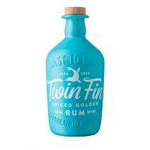 Tarquin's Twin Fin Spiced Golden Rum 38% ABV 70cl