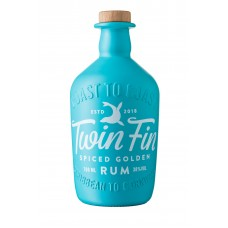 Twin Fin Spiced Golden Rum 38% ABV 70cl Alcohol