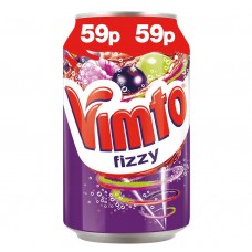 Vimto Fizzy Can 59p PM 330ml Drinks