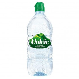Volvic Sports Cap Bottle 1 Litre Drinks
