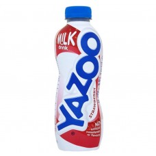 Yazoo Milk Strawberry Bottle 400ml Drinks