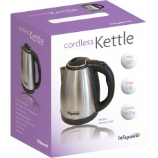 Stainless Steel Cordless 360 Kettle 1.8 Litre Electrical