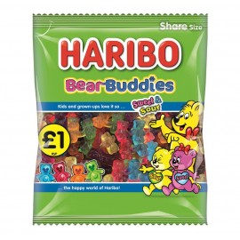 Haribo £1 PM Bear Buddies 180g 12 pack Food