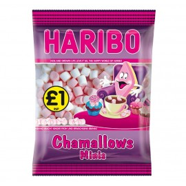 Haribo £1 PM Chamallow Minis 140g 12 pack Food
