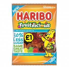 Haribo £1 PM Fruitilicious 155g 12 pack Food