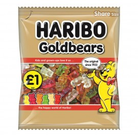 Haribo £1 PM Goldbears 180g 12 pack Food