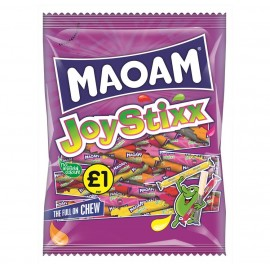 Maoam £1 PM Joystixx 140g 12 pack Food