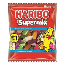 Haribo £1 PM Super Mix 180g 12 pack Food