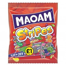 Maoam £1 PM Stripes 160g 12 pack Food